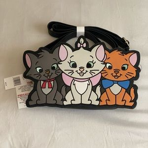 LOUNGEFLY DISNEY ARISTOCATS CROSSBODY